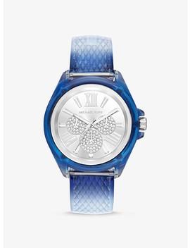 Wren Embossed Watch by Michael Kors