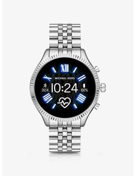 Lexington 2 Silver Tone Smartwatch by Michael Kors Access