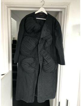 Comme Des Garçons Junya Watanabe Coat Black by Comme Des Garcons