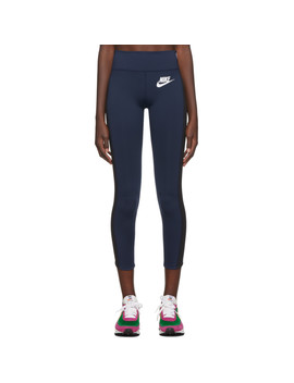 Navy Sacai Edition Nrg Ga Ni 04 Leggings by Nike
