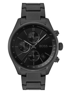 Grand Prix Bracelet Strap Chronograph Watch, 44mm by Boss