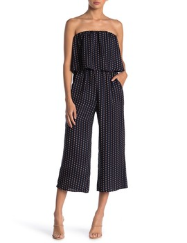 Diamond Printed Popover Jumpsuit by Be Bop