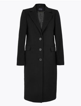 Tailored Coat by Marks & Spencer