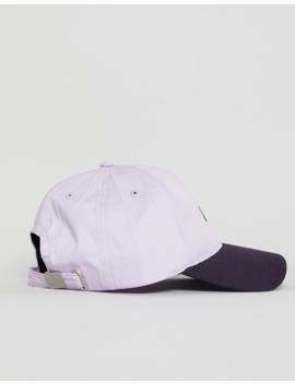 Asos Design Baseball Cap In Lilac Color Block by Asos Design