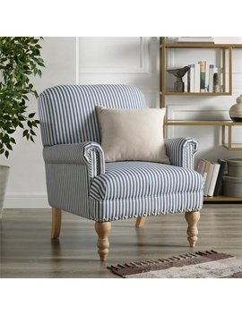 Dorel Living Jaya Accent Chair, Blue by Dorel Living