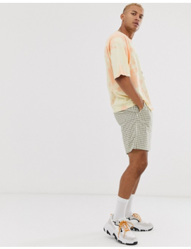Asos Design Oversized T Shirt With Tie Dye And Lion Print by Asos Design
