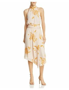 New $260 Joie Women's Silk Pink Yellow Floral Kehlani Sleeveless Dress Size 4 by Ebay Seller