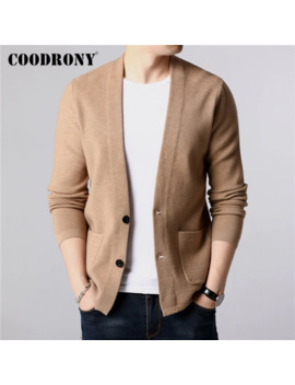 Coodrony Brand Sweater Men Streetwear Fashion Sweater Coat Men With Pockets Autumn Winter Warm Cashmere Wool Cardigan Men 91105 by Ali Express.Com