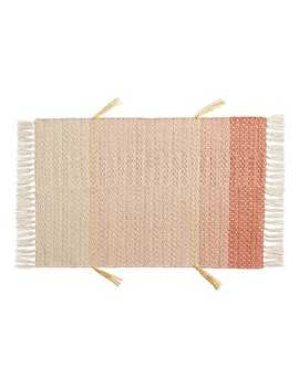 Patched Pink 2'x3' Rug by Pier1 Imports