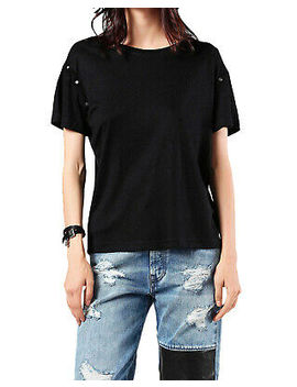 Diesel T Kisha Maglietta Camiseta De Mujer Negro by Ebay Seller