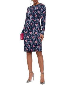 Floral Print Jersey Dress by Diane Von Furstenberg