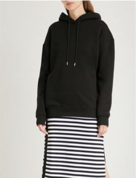 Laura Oversized Cotton Jersey Hoody by Ninety Percent