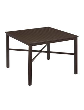 Mix And Match Square Metal Outdoor Dining Table by Hampton Bay