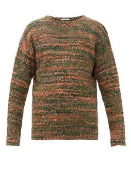 Popover Smudge Wool Blend Sweater by Our Legacy