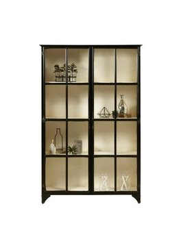 Beaumont Lane Curio Cabinet In Black by Beaumont Lane