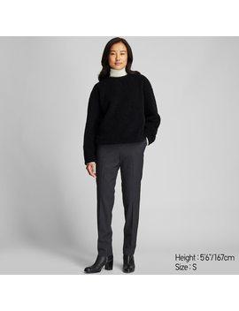 Women Fleece Lined Jumper by Uniqlo