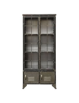 3 R Studios Four Door Metal Cabinet by 3 R Studios