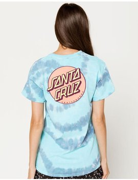 Santa Cruz Tie Dye Other Dot Womens Tee by Santa Cruz