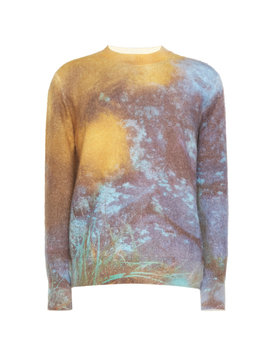 Acid Mohair Blend Sweater by Oamc