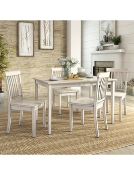 Lexington 5 Piece Dining Set With 4 Mission Back Chairs by Weston Home