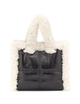 Lolita Faux Shearling Tote by Stand Studio