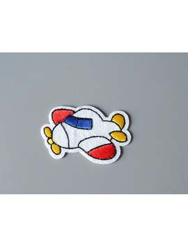 Air Plane Small Embroidered Iron On Applique Sew On Patch Diy by Etsy