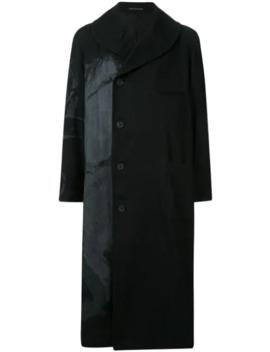 Off Centre Buttoned Coat by Yohji Yamamoto