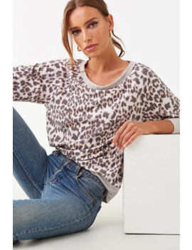 Cheetah & Leopard Print Top by Forever 21