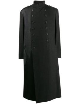 Double Breasted Coat by Yohji Yamamoto