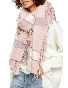 Valley Plaid Scarf by Free People