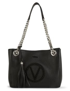 Saffiano Leather Wing Tote by Calvin Klein
