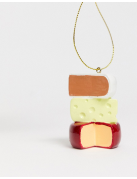 Typo Cheese Christmas Decoration by Typo