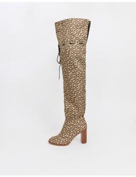 Asos Design – Kyla – Overknee Stiefel by Asos