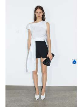 High Waist Shorts View All Shorts Woman by Zara