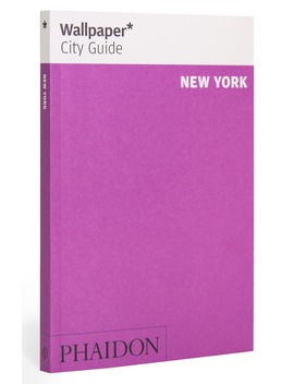 'wallpaper* City Guide New York' Pocket Size Travel Book by Phaidon Press