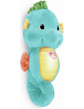 Fisher Price Soothe & Glow Seahorse   Blue835/5582 by Argos