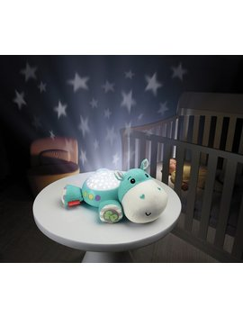 Fisher Price Hippo Cuddle Projection Soother   Blue404/3795 by Argos