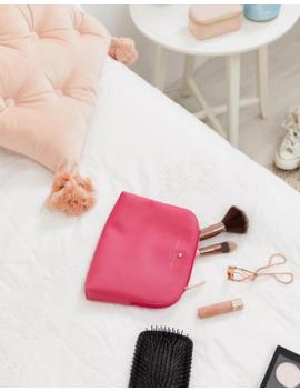 Johnny Loves Rosie Pink Cosmetic Bag by Johnny Loves Rosie