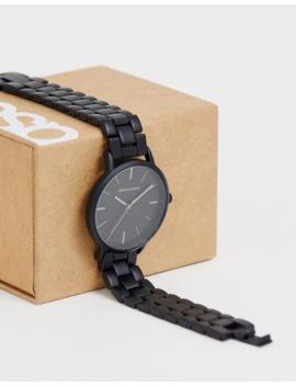 Reloj Negro De Asos Design by Asos Design