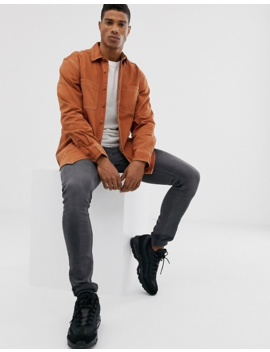 Pull&Bear Shirt In Orange by Pull&Bear