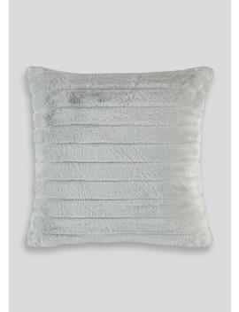 Faux Fur Cushion (46cm X 46cm) by Matalan
