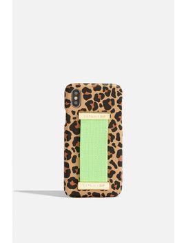 **I Phone Hülle Mit Leoparden Print Und Riemen Von Skinnydip by Topshop