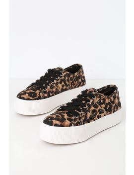 Emmi Leopard Print Platform Sneakers by Steve Madden