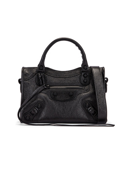 Mini Leather City Bag by Balenciaga