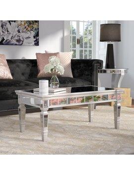 Jerlene Glam Coffee Table by Willa Arlo Interiors