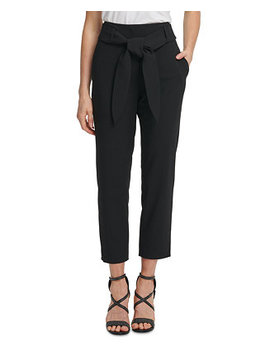 Tie Waist Ankle Pants by General