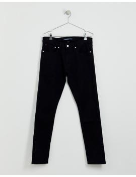 Calvin Klein Jeans Skinny Jeans In Black by Calvin Klein