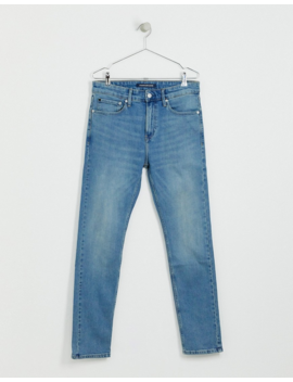 Calvin Klein Jeans Skinny Jeans In Light Wash by Calvin Klein