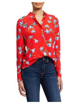 Anderson Floral Button Down Shirt by Rag & Bone