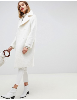Gianni Feraud Teddy Oversized Coat by Asos
